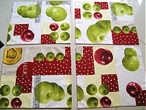 Úžitkový textil - Prostírání - Voní po jablíčkách - 2256591