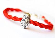 Náramky - ochranný kabbalah náramok matrioška - 2257031