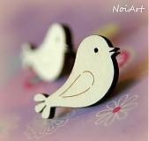Gombíček vtáčik
