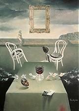 Obrazy - Rosalino nedopité červené víno - 2262579