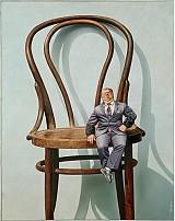 Obrazy - Reprodukcia - Malý človek na veľkej stoličke - 2262617