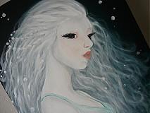 Obrazy - jazerná pani - 2266446