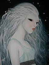 Obrazy - jazerná pani - 2266448