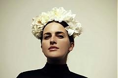 Ozdoby do vlasov - Veľká biela parta pre nevestu by Hogo Fogo - 2266804