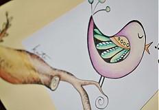 Obrazy - Vtáčia pieseň - 2268555