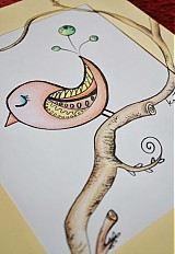 Obrazy - Vtáčia pieseň - 2268556