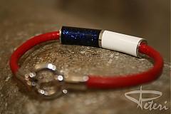 Náramky - Pánsky náramok z bieleho zlata - 2277562