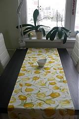 Úžitkový textil - Obrus - štóla jarná do žlta  45 x 150 cm Poslednýýý - 2280073