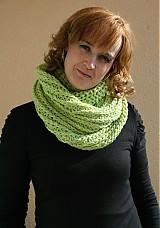- Nákrčník zelené barvy  - 2280150