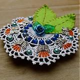 - Modrá ruža - darček k objednávke - 2287279