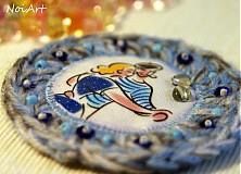 Odznaky/Brošne - Námornícka láska - 2296073