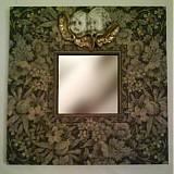 zrkadlo s anjelikom - patina
