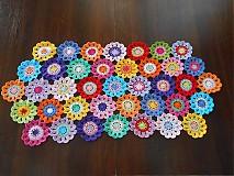 Úžitkový textil - Háčkovaný obrus - 2302995