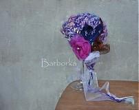 Detské čiapky - cepcek fialka - 2303208