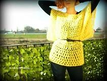 slnečný pulóver