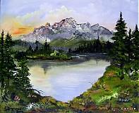 Obrazy - V údolí - 2311665