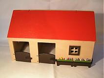 Hračky - Domček so stajňami pre koníky - 231326