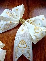 - svadobné mašle,smotanové... - 2318896