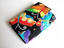 Peňaženky - Motýlí duha - zipová i na karty - 2326117