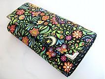 Peňaženky - Rajská zahrada na nočním nebi-velká na spoustu karet - 2326141