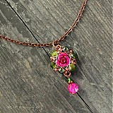 Náušnice - Náušničky Královna květin II... - 2326533