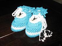 Detské oblečenie - Papučky Macka Uška - 2327706