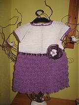 Detské oblečenie - Háčkované šatôčky - 2327808