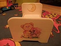 Hračky - Postieľka pre bábiky - 2330852
