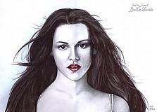 Obrazy - portréty- Kristen Stewart as Isabella Swan - 2334687