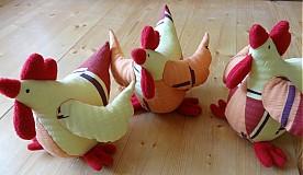 Dekorácie - Veľkonočné sliepky - jarabé - 2338637