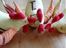 Dekorácie - Veľkonočné sliepky - jarabé - 2338642