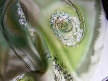 Šály - Herba /hedvábná šála 45 x 180 cm/ - 2340293