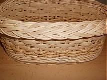 Košíky - Prírodný - oválny s kukuričnou šnúrou - 2341504