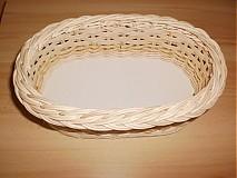 Košíky - Prírodný - oválny s kukuričnou šnúrou - 2341506