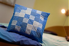 Úžitkový textil - vankúš Patchwork (návlek) - 2342771