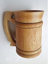 Nádoby - Dubový pohár na pivo - 2345946