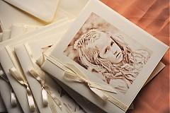 Papiernictvo - RETRO oznámenie s Vašou fotografiou - 2360670
