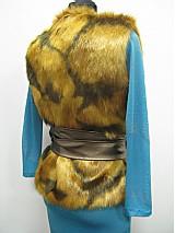 Iné oblečenie - Kožušinová vesta - skladom - 2361884