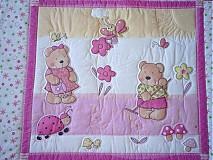 Úžitkový textil - Deka - Ružová radosť - 2366209