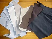 Suroviny - odrezky kože 0,950 kg - 2370950