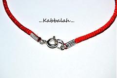 Náramky - kabbalah náramok 925 striebro + swarovski ♥ podľa výberu - 2375128