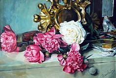 Obrazy - Reprodukcia - Na nočnom stolíku - 2377580
