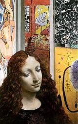 Obrazy - Reprodukcia - Leonardo v galérii moderného umenia - 2377625