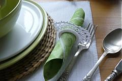 Úžitkový textil - ozdoba na servítky - 2378655