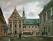 Obrazy - Hometown, Františkánsky kostol - 2390282