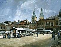 Obrazy - Hometown, Námestie - 2390335
