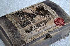 Krabičky - Truhlica plná spomienok na Paríž - 2392897