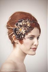 Ozdoby do vlasov - Red Gold by Hogo Fogo - 2396288