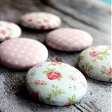 Materiál ručne robený - Romantické buttony 38 mm - 2396918