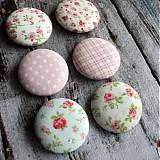 Materiál ručne robený - Romantické buttony 38 mm - 2396919